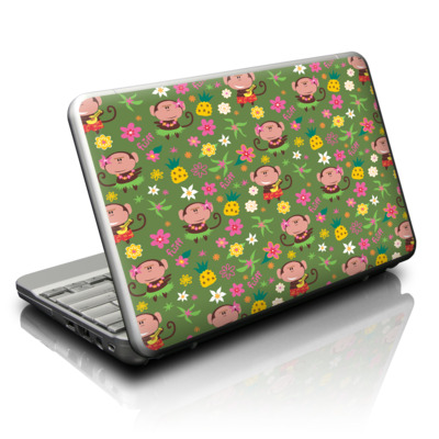 Netbook Skin - Hula Monkeys