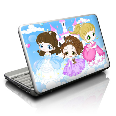 Netbook Skin - Little Princesses