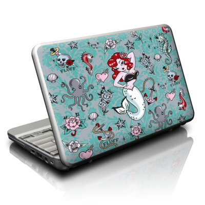 Netbook Skin - Molly Mermaid