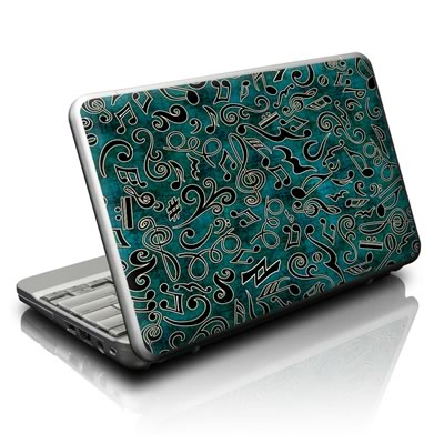 Netbook Skin - Music Notes