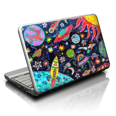 Netbook Skin - Out to Space