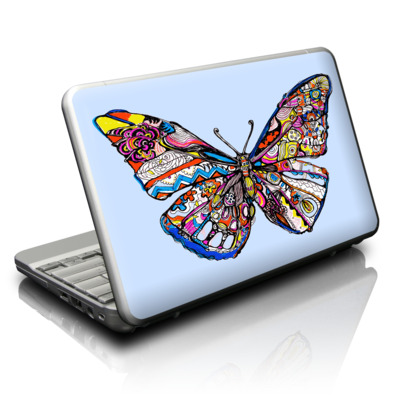 Netbook Skin - Pieced Butterfly