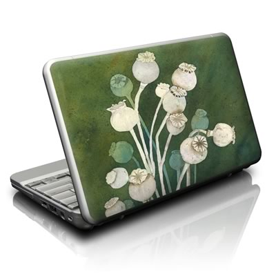 Netbook Skin - Poppy Pods