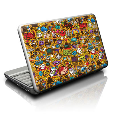Netbook Skin - Psychedelic