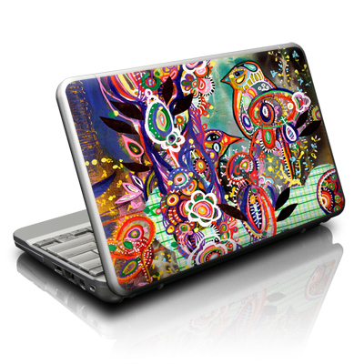Netbook Skin - Purple Birds
