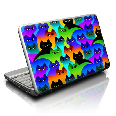 Netbook Skin - Rainbow Cats