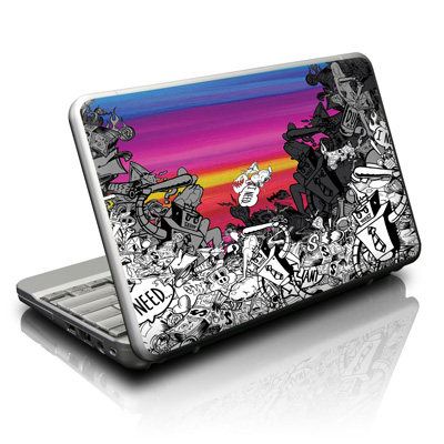 Netbook Skin - Robo Fight