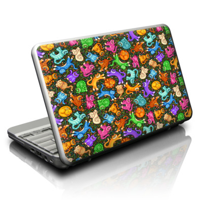 Netbook Skin - Sew Catty