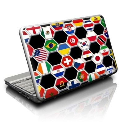 Netbook Skin - Soccer Flags