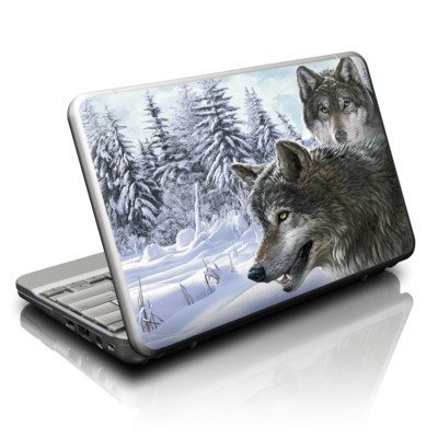 Netbook Skin - Snow Wolves