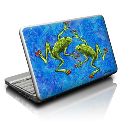 Netbook Skin - Tiger Frogs