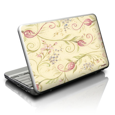 Netbook Skin - Tulip Scroll