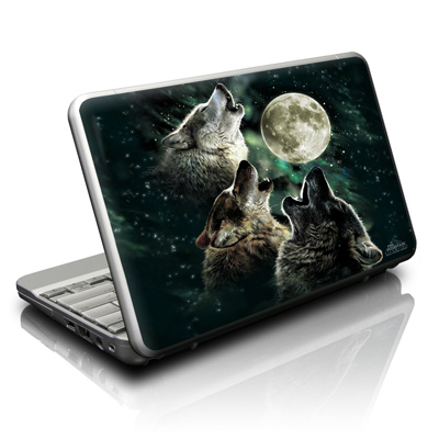 Netbook Skin - Three Wolf Moon