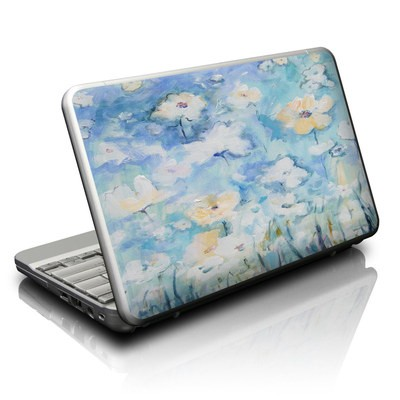 Netbook Skin - White & Blue