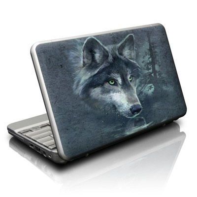Netbook Skin - Wolf Reflection