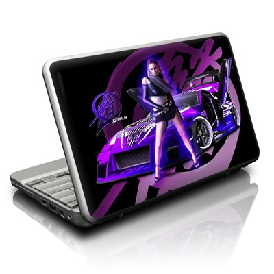 Netbook Skin - Z33 Purple