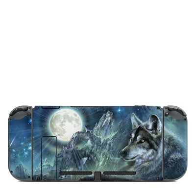 Nintendo Switch (Console Back) Skin - Bark At The Moon