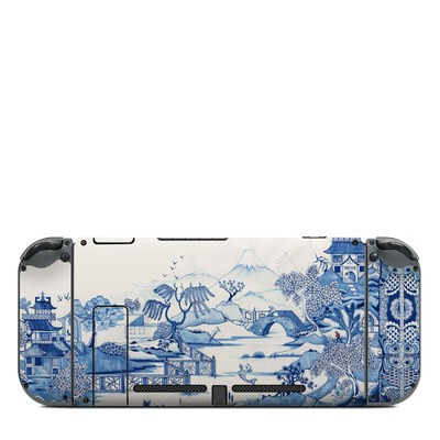 Nintendo Switch (Console Back) Skin - Blue Willow