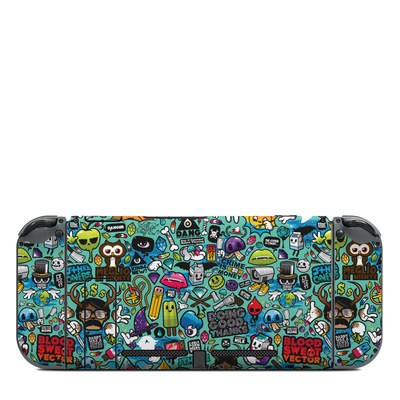 Nintendo Switch (Console Back) Skin - Jewel Thief