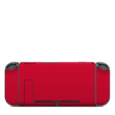 Nintendo Switch (Console Back) Skin - Solid State Red