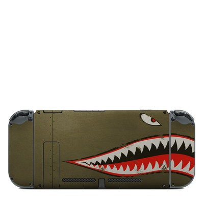 Nintendo Switch (Console Back) Skin - USAF Shark