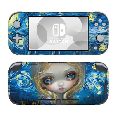 Nintendo Switch Lite Skin - Alice in a Van Gogh