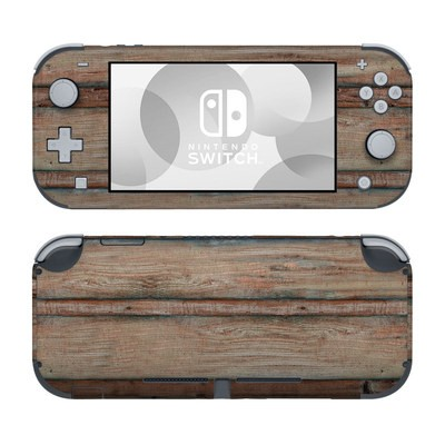 Nintendo Switch Lite Skin - Boardwalk Wood