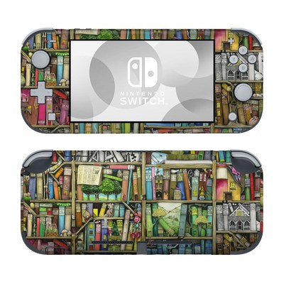 Nintendo Switch Lite Skin - Bookshelf