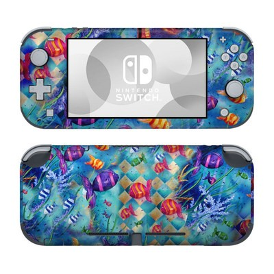 Nintendo Switch Lite Skin - Harlequin Seascape