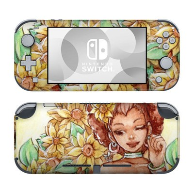 Nintendo Switch Lite Skin - Lady Sunflower