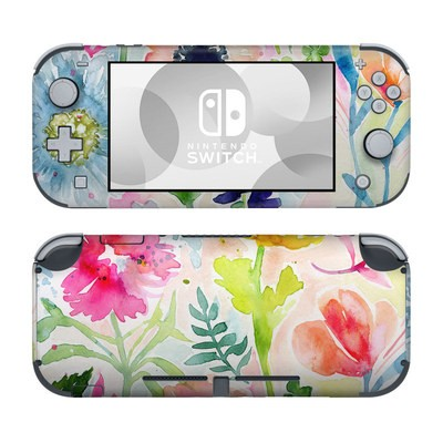 Nintendo Switch Lite Skin - Loose Flowers