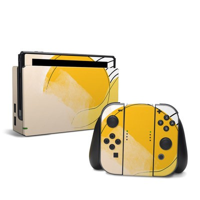 Nintendo Switch Skin - Abstract Yellow