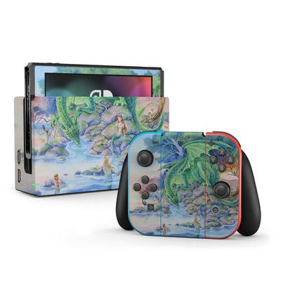 Nintendo Switch Skin - Of Air And Sea