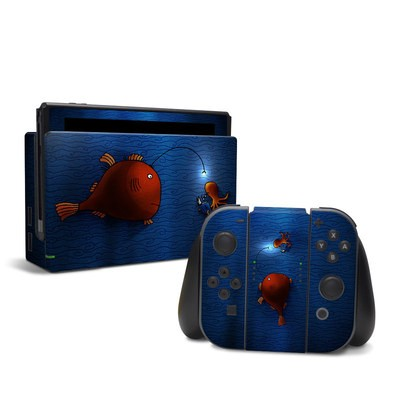 Nintendo Switch Skin - Angler Fish