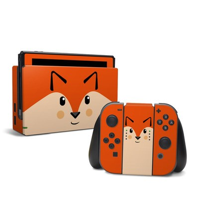 Nintendo Switch Skin - Autumn the Fox
