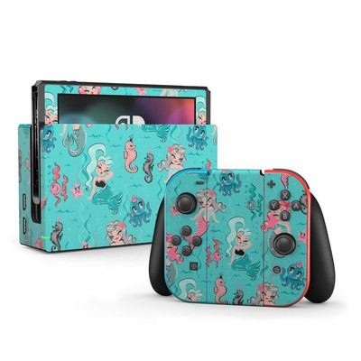 Nintendo Switch Skin - Babydoll Mermaids