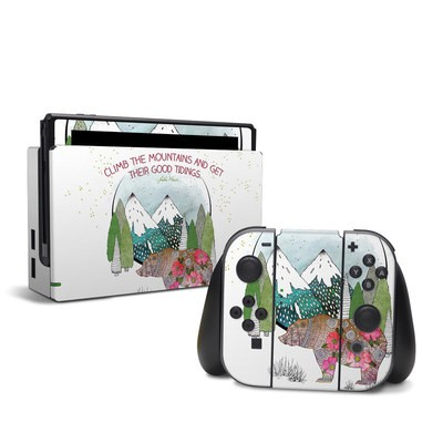 Nintendo Switch Skin - Bear Mountain