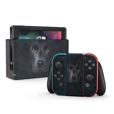 Nintendo Switch Skin - Black Lab