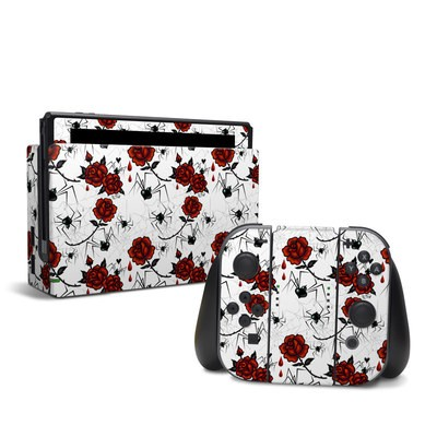 Nintendo Switch Skin - Black Widows