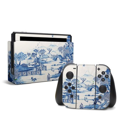Nintendo Switch Skin - Blue Willow