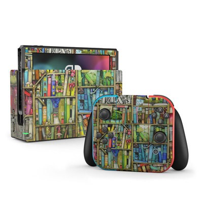 Nintendo Switch Skin - Bookshelf