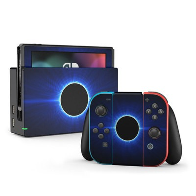 Nintendo Switch Skin - Blue Star Eclipse