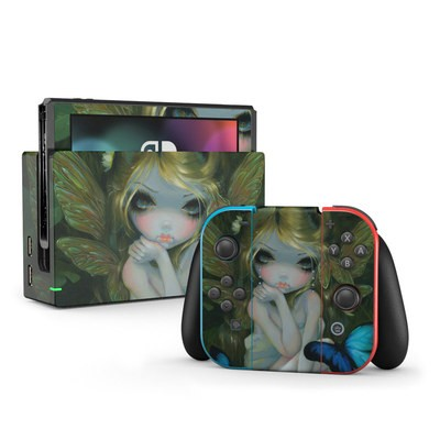 Nintendo Switch Skin - Butterfly Lily
