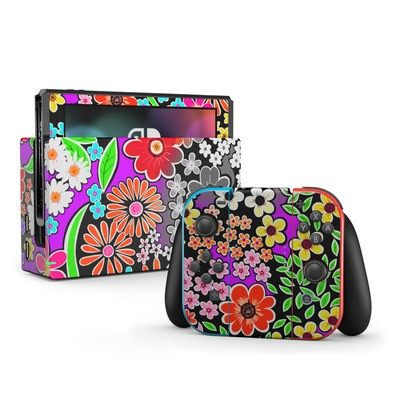 Nintendo Switch Skin - A Burst of Color