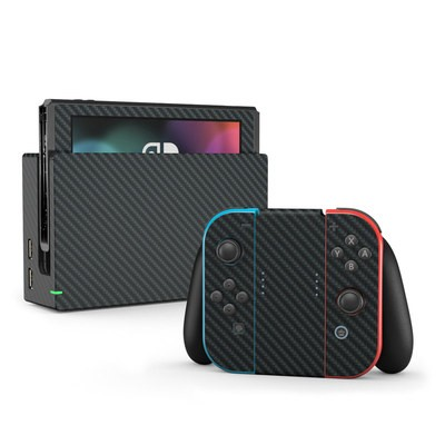 Nintendo Switch Skin - Carbon