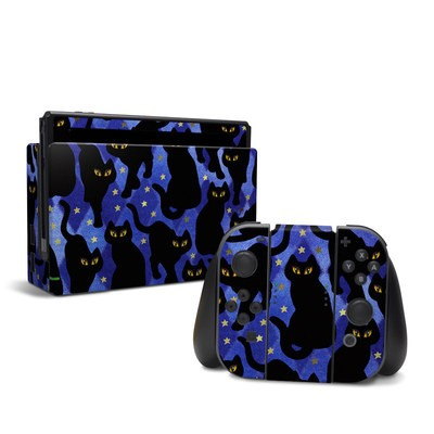 Nintendo Switch Skin - Cat Silhouettes