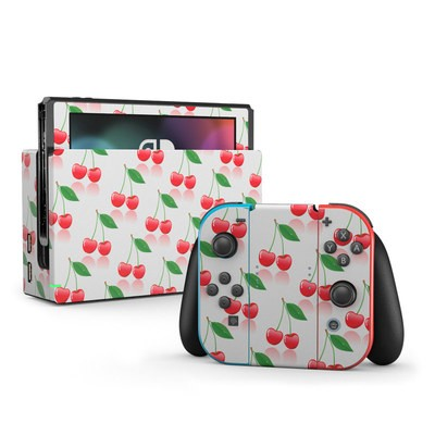 Nintendo Switch Skin - Cherry