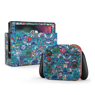 Nintendo Switch Skin - Cosmic Ray