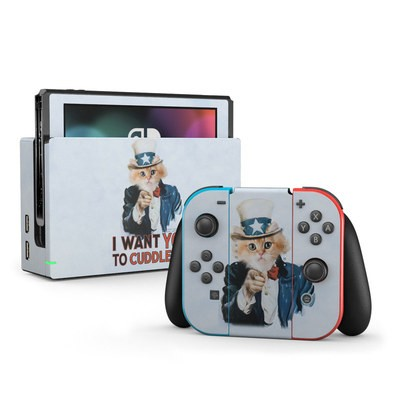 Nintendo Switch Skin - Cuddle Me