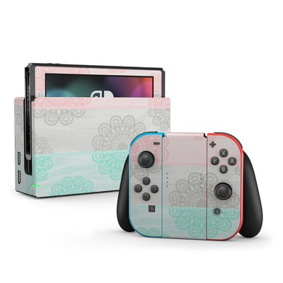 Nintendo Switch Skin - Doily